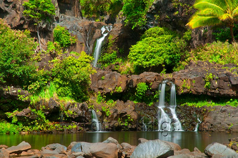 7 Sacred Pools on the island of Maui in Hawaii.